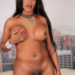 Black-Tgirls.com Delicious Starr is a sexy tall transgirl with a delicious curvy body