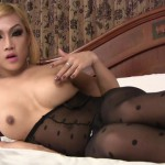 Shemale – Ladyboy-ladyboy presents Love Cums On Her Stockings! – 16.09.2016 (MP4, FullHD, 1920×1080)
